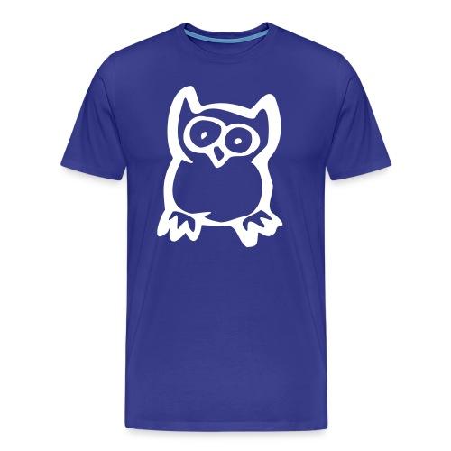T-shirt Hibou NOUVEAU - T-shirt Premium Homme