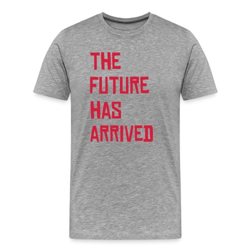 the future t-shirt granite - Men's Premium T-Shirt