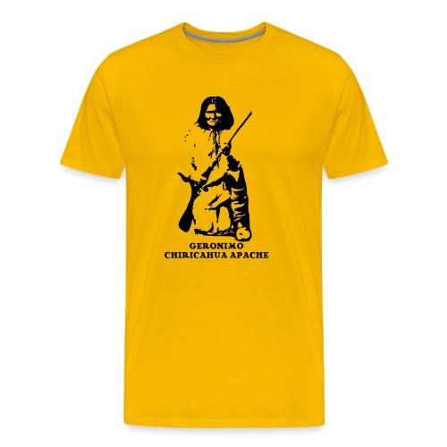 Frank's Realm yellow T-shirt -both sides printed! - Men's Premium T-Shirt