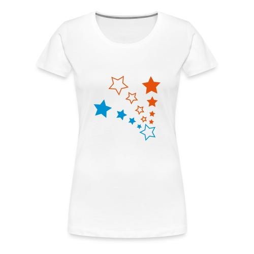 Classic Girlie Stars - Frauen Premium T-Shirt