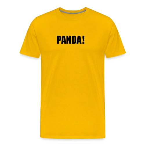 Official PANDA! shirt - Men's Premium T-Shirt