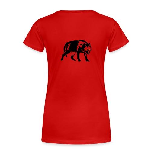 Märchenprinzessin_Rotkäppchen - Frauen Premium T-Shirt