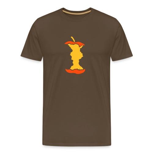 Motive-T-Shirt, Apfel - Männer Premium T-Shirt