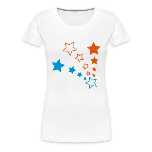 Fukaduk Stars Girlie - Vrouwen Premium T-shirt