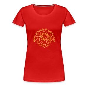 LC Frankfurt: Orange (Druck vorn) - Frauen Premium T-Shirt