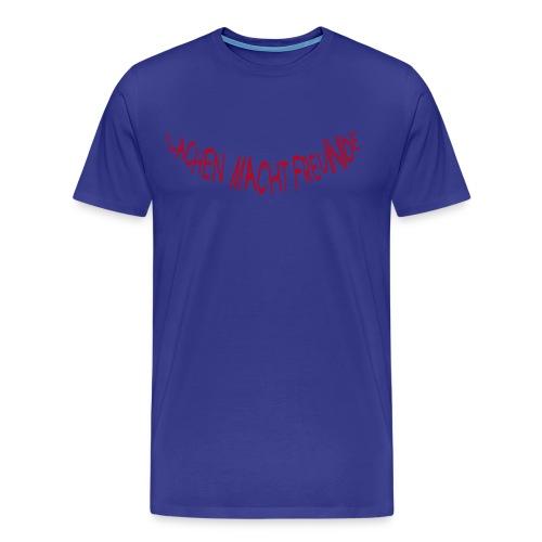 Lachen macht FreuNde: Simply Red (Druck vorn) - Männer Premium T-Shirt
