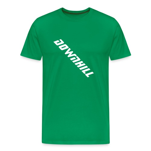 downhill - Men's Premium T-Shirt