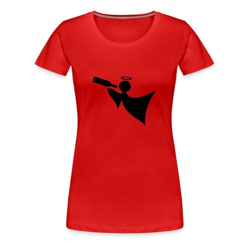 Continental Classic for jenter rød - Premium T-skjorte for kvinner