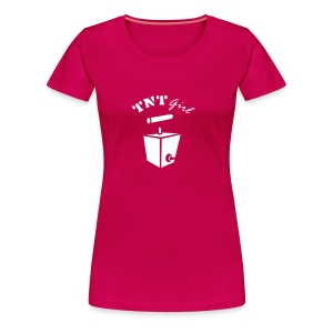 TNT-girl - Premium T-skjorte for kvinner