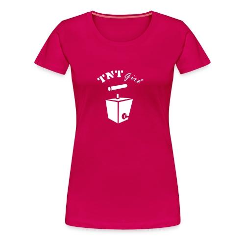 TNT-girl - Premium T-skjorte for kvinner