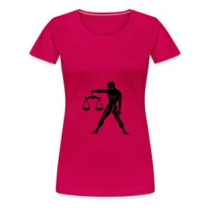 libra - Premium T-skjorte for kvinner