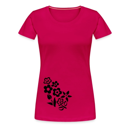 funky in floral tee - Women's Premium T-Shirt