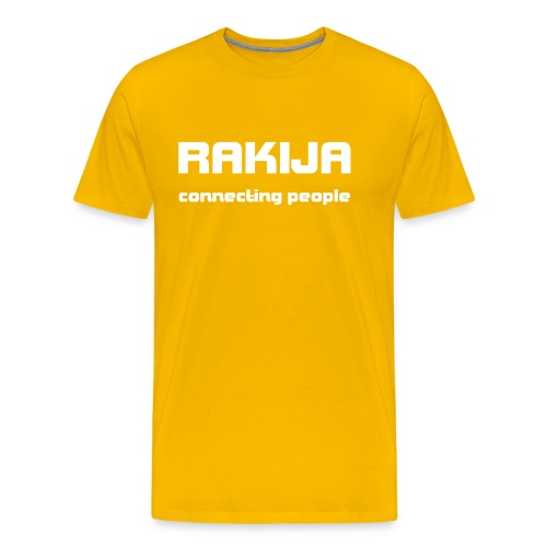 Majica Rakija Connecting People - Männer Premium T-Shirt