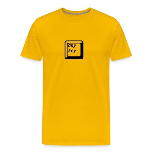 Yellow Img T-shirt - Men's Premium T-Shirt