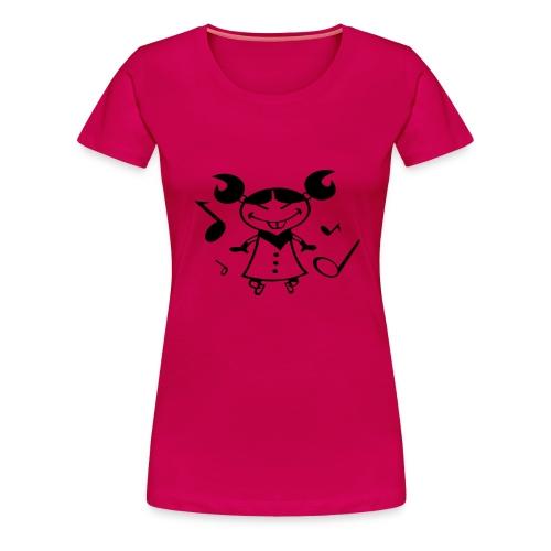 musikgirl - T-shirt Premium Femme