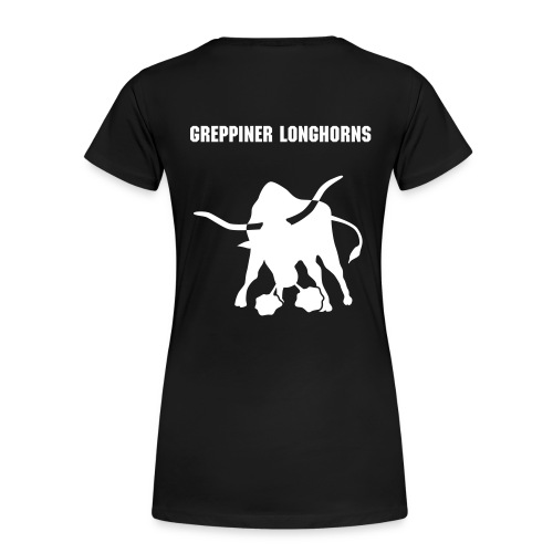 Girlie-Shirt Greppiner Longhorns - Frauen Premium T-Shirt