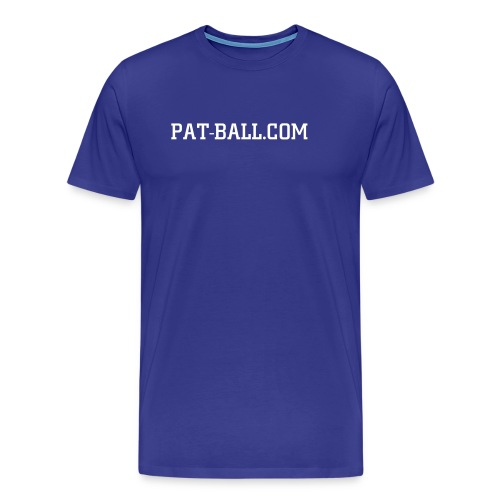 URL Tee (Blue) - Men's Premium T-Shirt