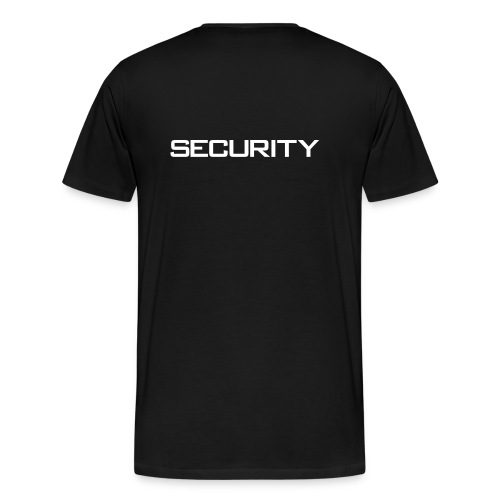 Security Black XXXL - Mannen Premium T-shirt