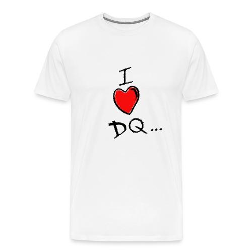 I Heart DQ XXXL Original Tee - Men's Premium T-Shirt