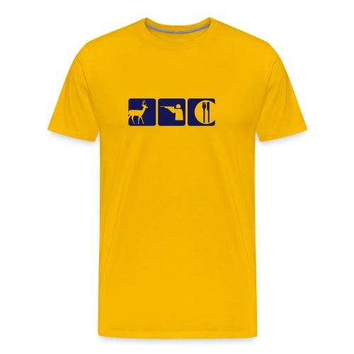 JÄGER - Männer Premium T-Shirt