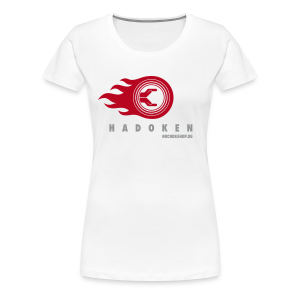 Hadoken (special offer, supported by arcadeshop.de) - Women's Premium T-Shirt