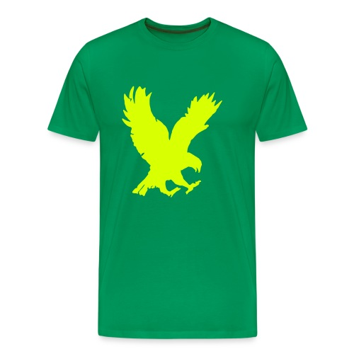 Comfort T mit Adler Motiv  - Männer Premium T-Shirt