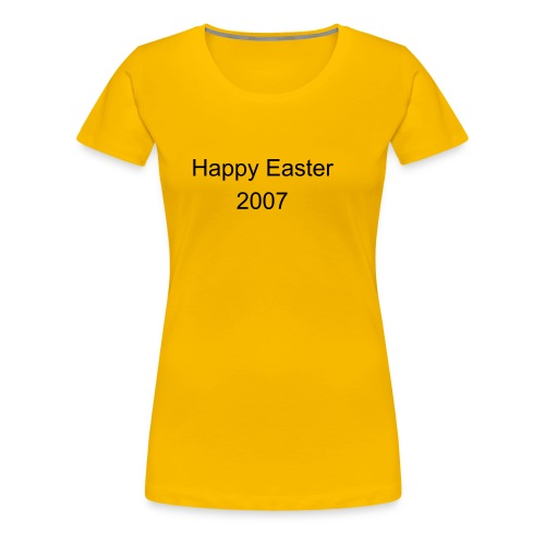 Happy Easter T-Shirt GIRL - Premium T-skjorte for kvinner
