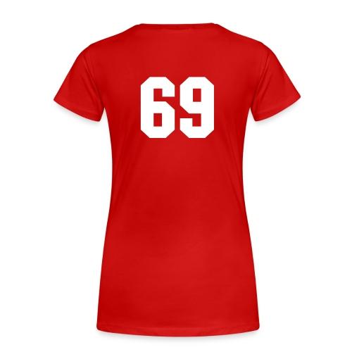 I need love - Vrouwen Premium T-shirt