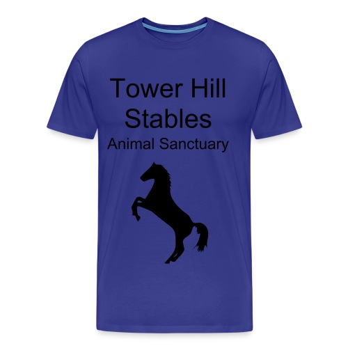 Tower Hill Horse - Choose your own colour Tee - Men's Premium T-Shirt