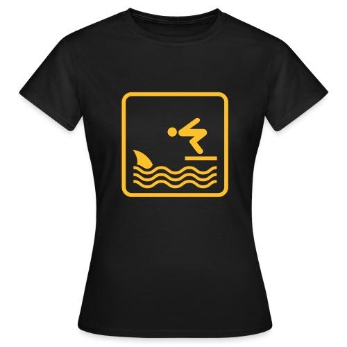 Shark + Diver = ? - Women's T-Shirt