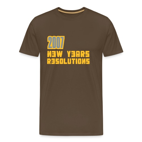 07RESOLUTION - Men's Premium T-Shirt