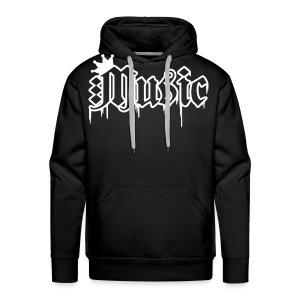 Music huppari - Miesten premium-huppari