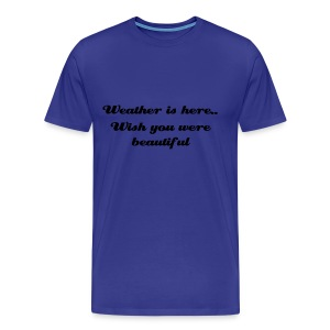 WEATHER - Men's Premium T-Shirt