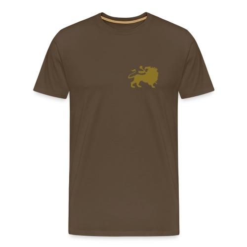 Leijona  - Miesten premium t-paita