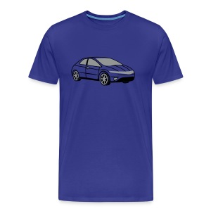 Civic (Sky) - Men's Premium T-Shirt