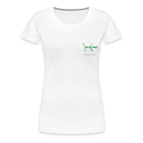 T-shirt Association Officiel Femme - T-shirt Premium Femme