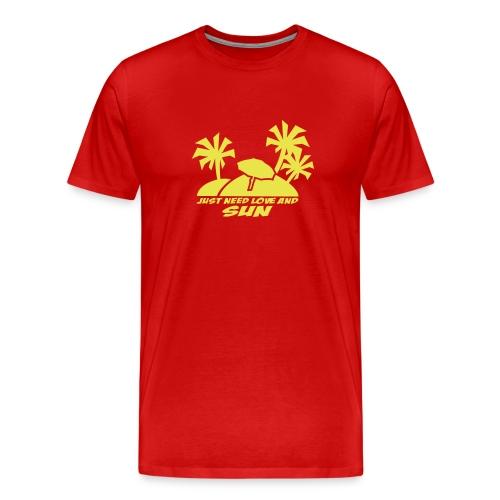 iles - T-shirt Premium Homme