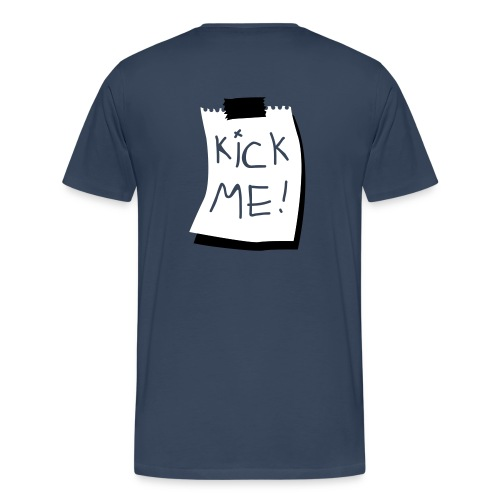 T-shirt Game Over+Kick Me - Premium-T-shirt herr