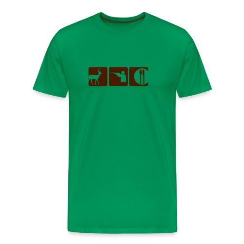 Green Img T-shirt - Men's Premium T-Shirt