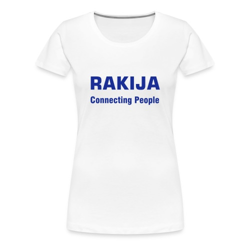 Majica Rakija Connecting People - Frauen Premium T-Shirt