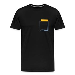 yellow card xxl shirt - Mannen Premium T-shirt