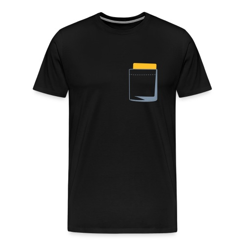 yellow card xxl shirt - Mannen Premium T-shirt