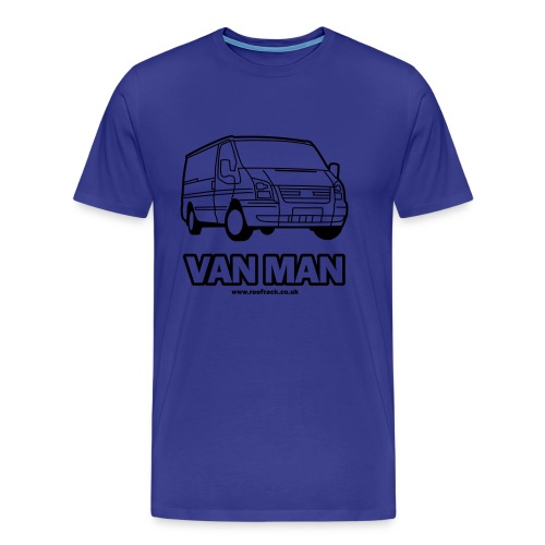 Van Man - Ford Transit / Tourneo T-Shirt - Light Blue - Men's Premium T-Shirt