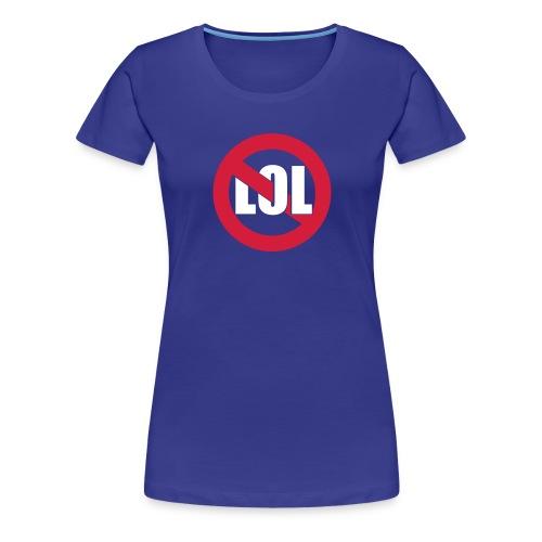 LOL Girl Blau - Frauen Premium T-Shirt