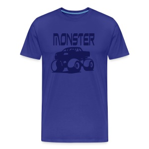 Monster Car Shirt - Männer Premium T-Shirt
