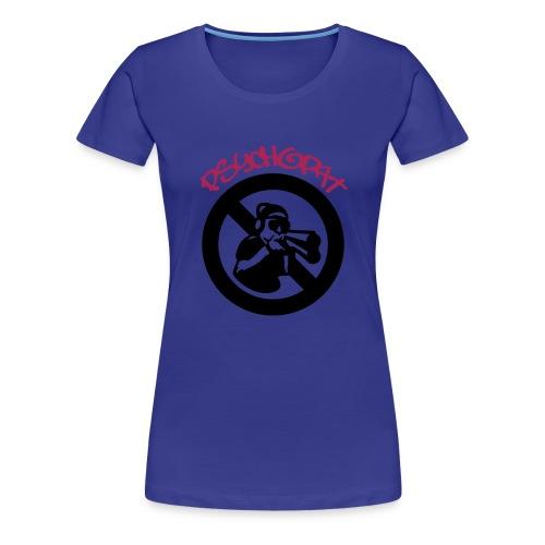 psykopat - Premium T-skjorte for kvinner