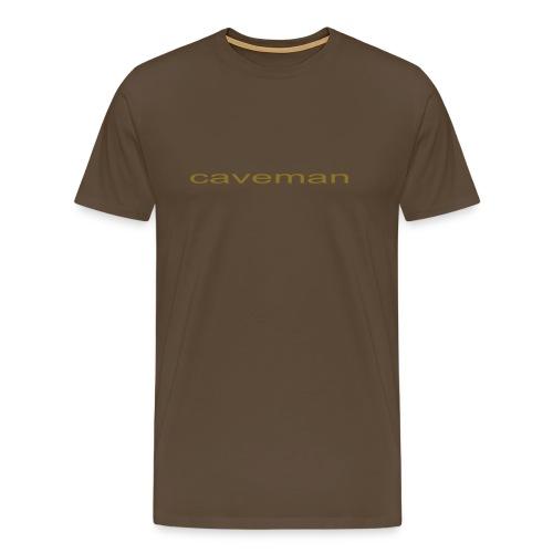 CAVEMAN - Men's Premium T-Shirt