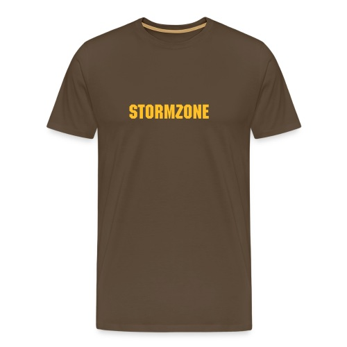 Brown Comfort - Men's Premium T-Shirt