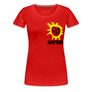 T-Shirts ~ Women's Premium T-Shirt ~ Hibs - Screamadelica front
