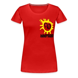 Hibs - Screamadelica front - Women's Premium T-Shirt
